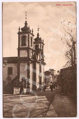 Postal antigo de Fafe - Igreja Matriz