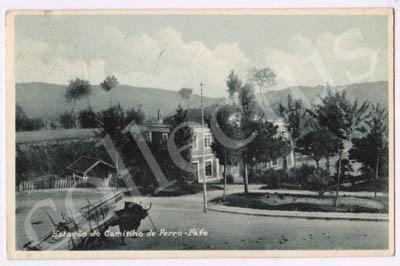 Postal antigo de Estação do Caminho de Ferro - Fafe