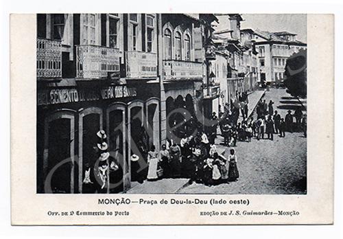 Postal antigo de Monção