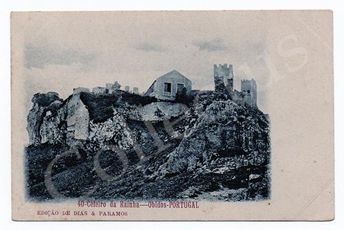 Postal antigo de Óbidos
