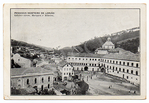 Postal antigo de Penacova