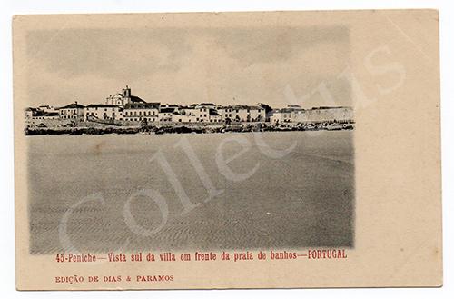 Postal antigo de Peniche