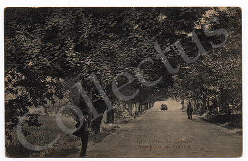 Postal antigo de Pombal