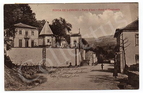 Postal antigo de Póvoa de Lanhoso