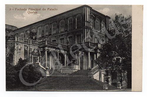 Postal antigo de Queluz