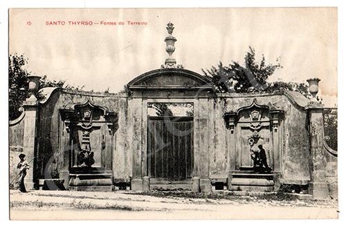 Postal antigo de Santo Tirso