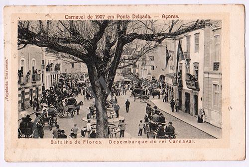 Postal antigo dos Açores - Ilha de S.Miguel