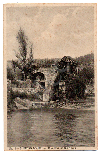 Postal antigo de São Pedro do Sul