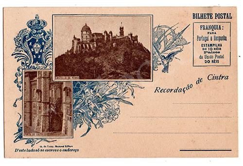 Postal antigo de Sintra