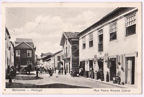 Postal antigo de Belmonte
