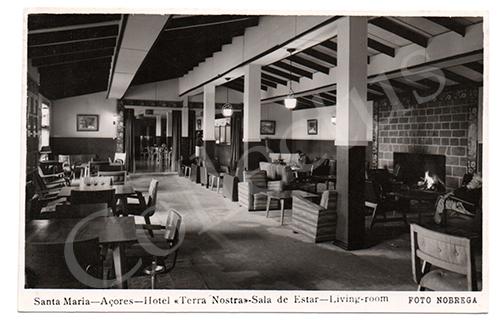 Postal antigo dos Açores