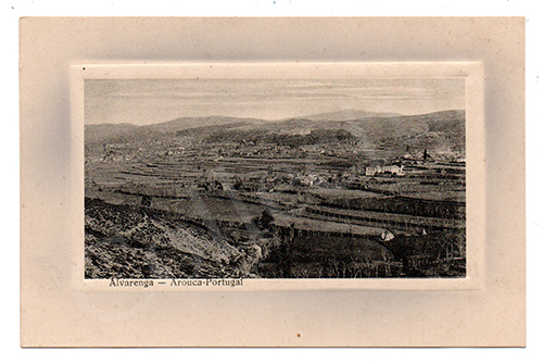Postal antigo de Alvarenga