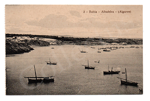 Postal antigo de Albufeira