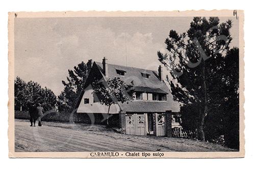 Postal antigo do Caramulo