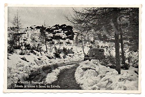 Postal antigo da Covilhã