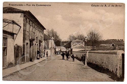 Postal antigo de Freamunde