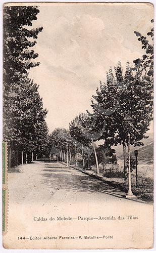Postal antigos Caldas do Moledo