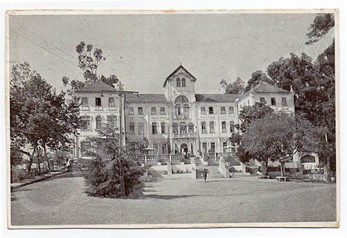 Postal antigo de Monte Real