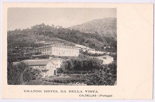 Postal antigo de Caldelas