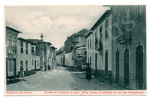 Postal antigo de Caminha