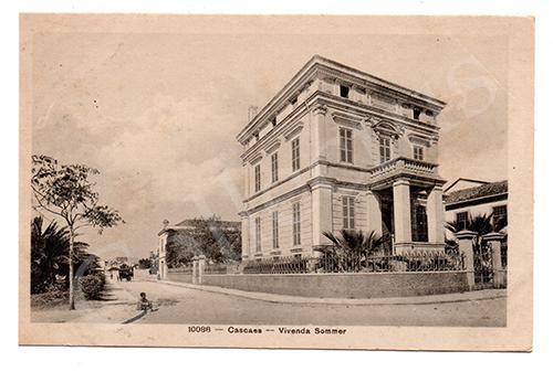 Postal antigo de Cascais