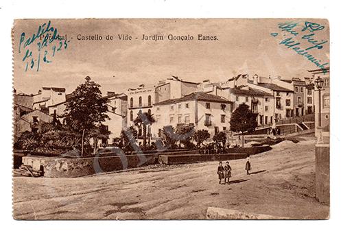 Postal antigo de Castelo de Vide