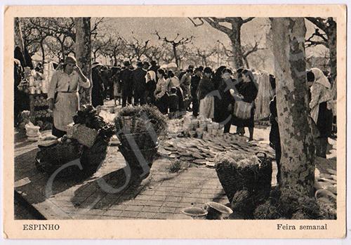 Postal antigo de Espinho