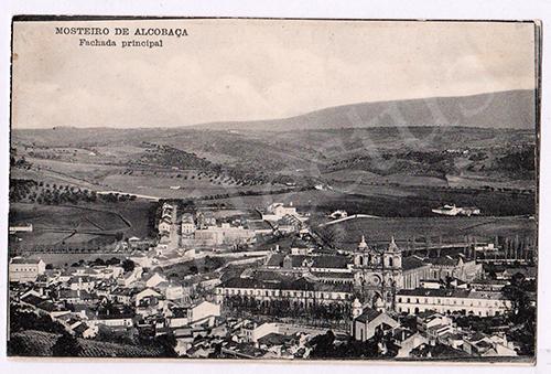 Postal antigo de Alcobaça