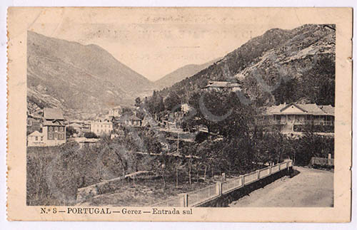 Postal antigo do Gerês