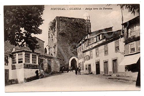 Postal antigo da Guarda