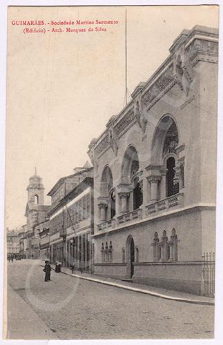 Postal antigo de Guimarães
