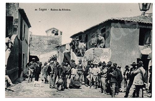 Postal antigo de Lagos