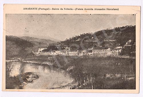 Postal antigo de Amarante