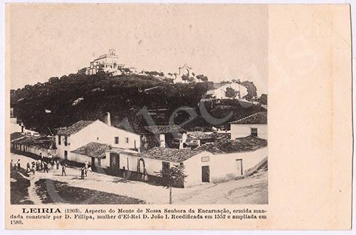 Postal antigo de Leiria