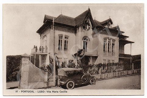 Postal antigo do Luso