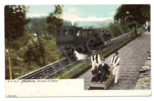 Postal antigo da Madeira