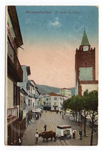 Postal antigo de Madeira