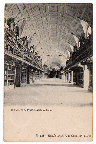 Postal antigo de Mafra