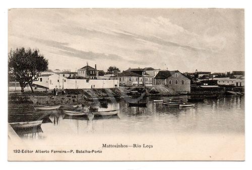 Postal antigo de Matosinhos