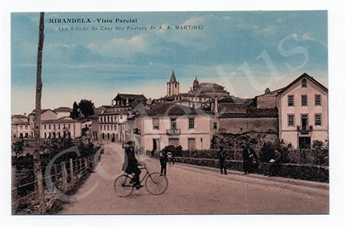 Postal antigo de Mirandela