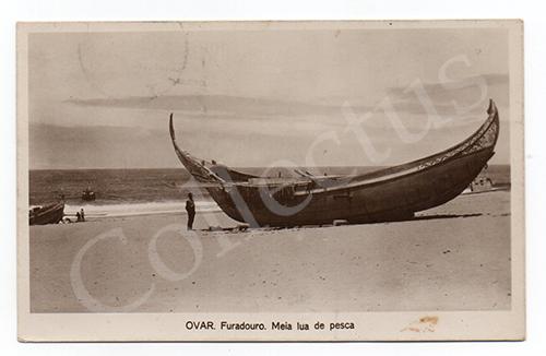Postal antigo de Ovar