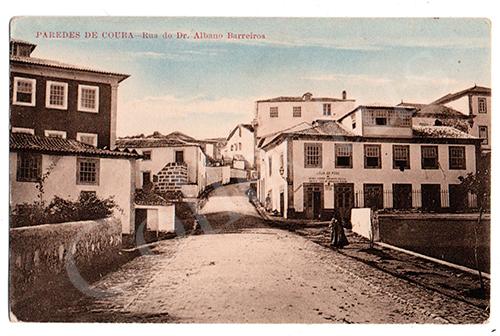 Postal antigo de Paredes de Coura