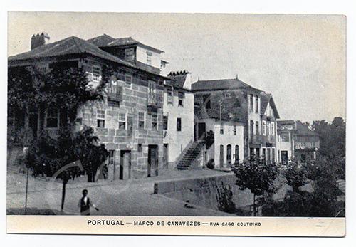 Postal antigo de Marco de Canaveses