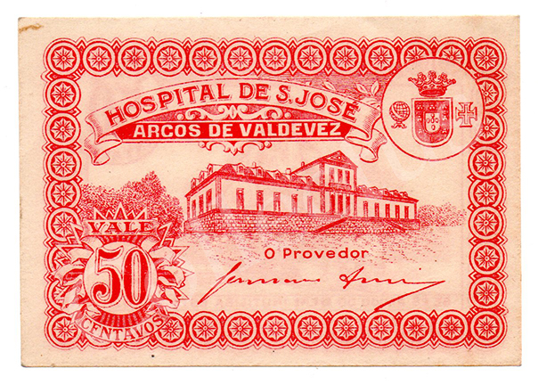 Cédula antiga de Arcos de Valdevez