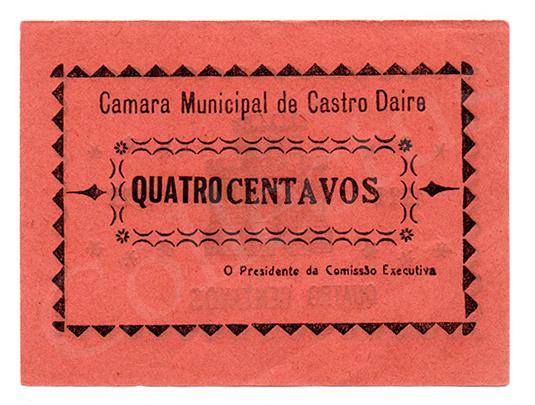 Cédula antiga de Castro Daire