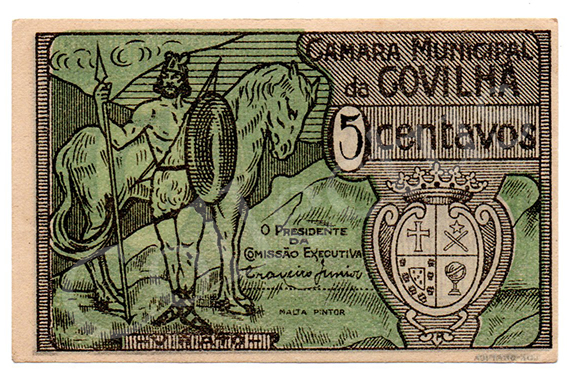 Cédula antiga da Covilhã