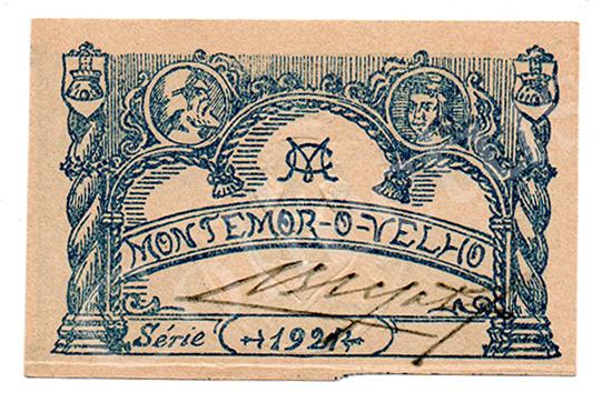 Cédula antiga de Montemor-o-Velho