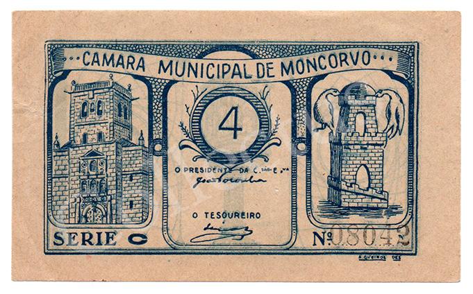 Cédula antiga de Moncorvo
