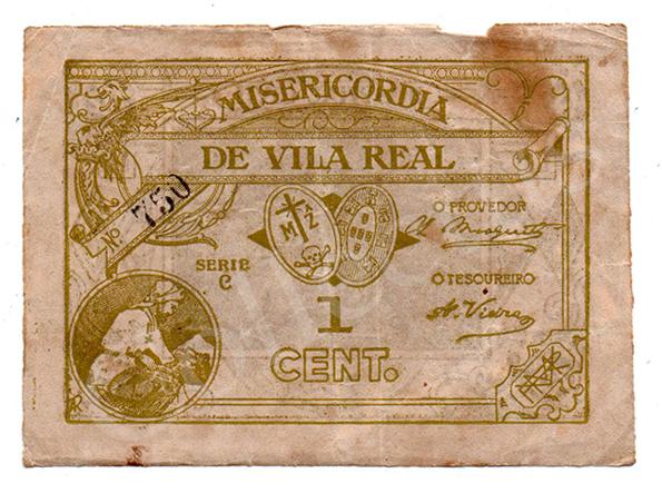 Cédula antiga de Vila Real