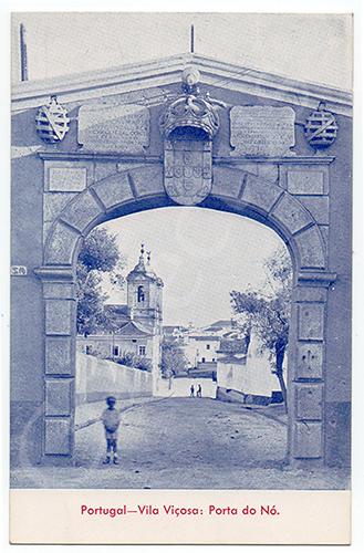 Postal antigo de Vila Viçosa